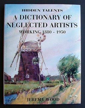 Dictionary of neglested Artists - Reference book