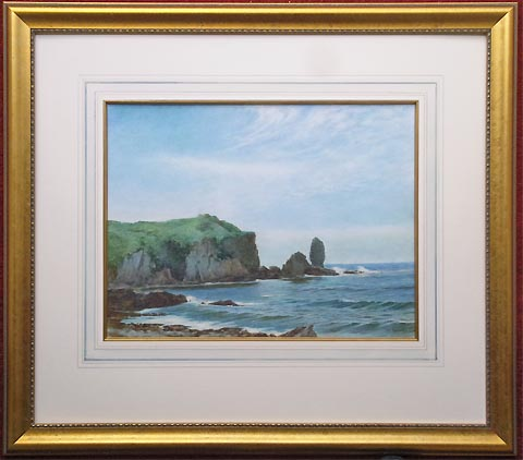 Bantham framed watercolour