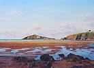 Burgh Island from Bantham by John Gillo