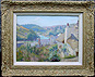 C. E. Butler - Oil Painting of Noss Mayo from Newton Ferrers