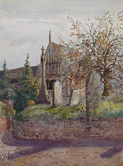 Campbell-Bennett Churchyard in Autumn