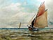Renato De Martino - Fishing Boat in  Sail