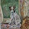 Portrait of a Terrier by Phyllis Antiobus