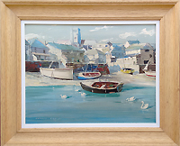 salcombe painting for sale by Donald Grieg