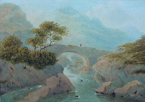 Ernest Stuart - A Highland Bridge