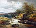 F J Widgery - Oil Painting - River Lyd