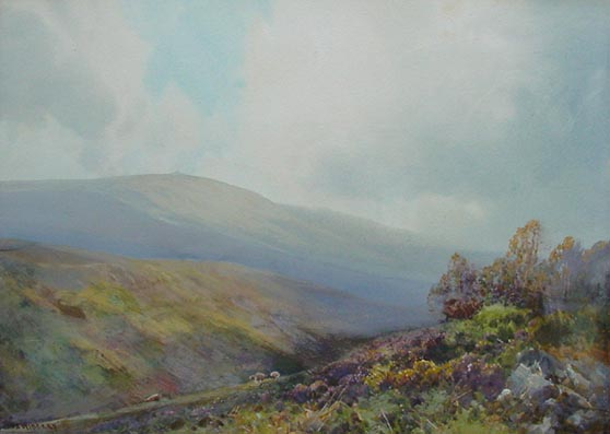 Frederick John Widgery - Dartmoor Painting