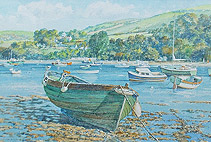 Salcombe watercolour for sale
