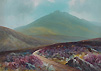 Herbert William Hicks- Yes Tor- Okehampton- Gouache