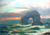 Thurlestone Rock OIl Painting