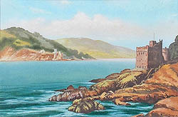 Kingswear castle painting for sale