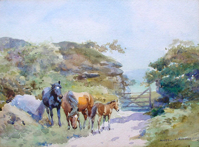 Mabel Kingwell Ponies No. 420