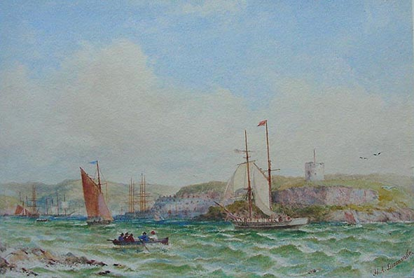 Henry Andrews Luscombe -Mount Batten and Cattewater
