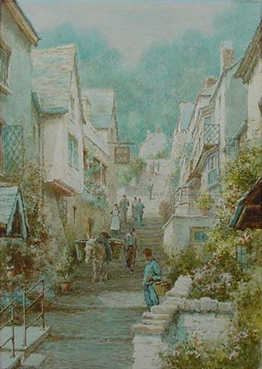 L. Mortimer - Clovelly Devon Picture