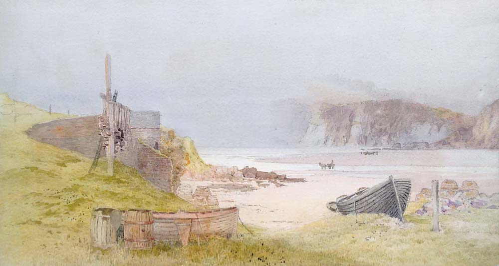 Devon antique watercolour for sale