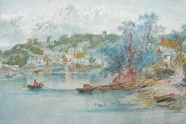 Newton Ferrers by W. H. Pike