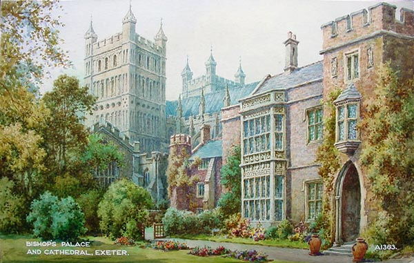 Frederick Parr - Bishops Palace Exeter