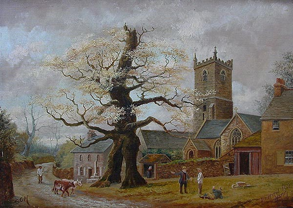 Royal Oak Meavy - Oil Painting