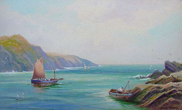 Rubens Southey - Mouth of the Gannell - Newquay