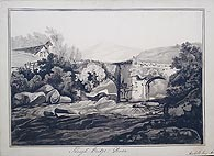 Shaugh Bridge Devon antique watercolour for sale