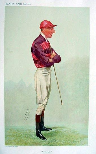Vanity Fair Spy Print - Jockey - Horse racing