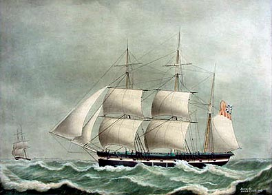 Antique Ship portrait
