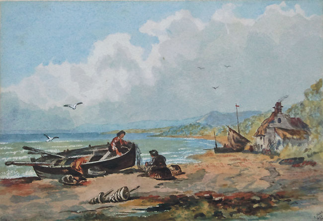 Start Point - painting dated 1860 by Caroline Gore Booth