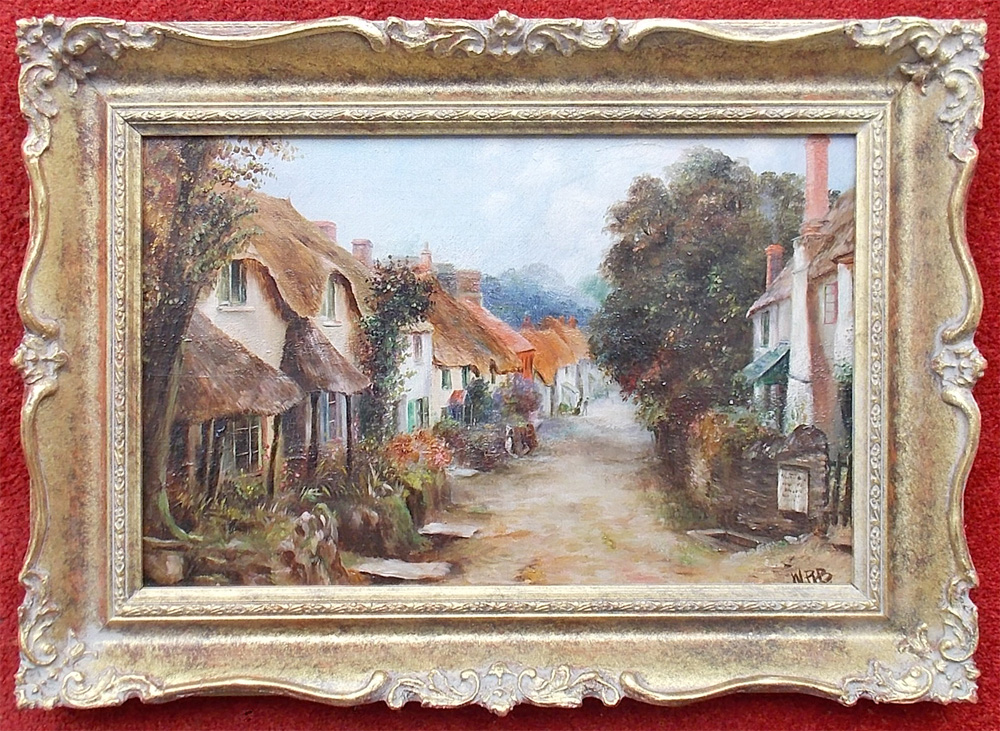 Antique oil painting for sale