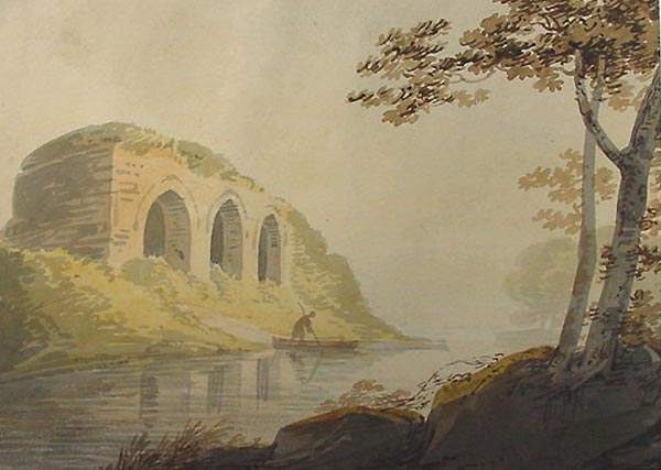 William Payne - Westcountry River with Ruin