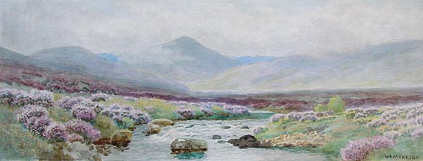 William Snell Morrish - Possibly the River Teign Dartmoor