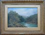 W. Widgery River painting