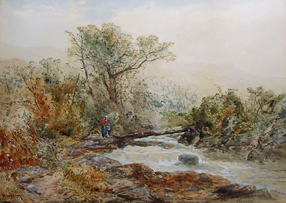W. Widgery Possibly River Lyd