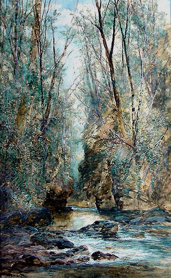 William Widgery - River Lyd