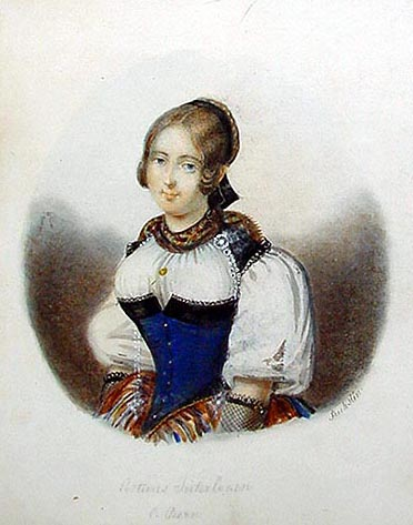 Swiss Costume Portrait